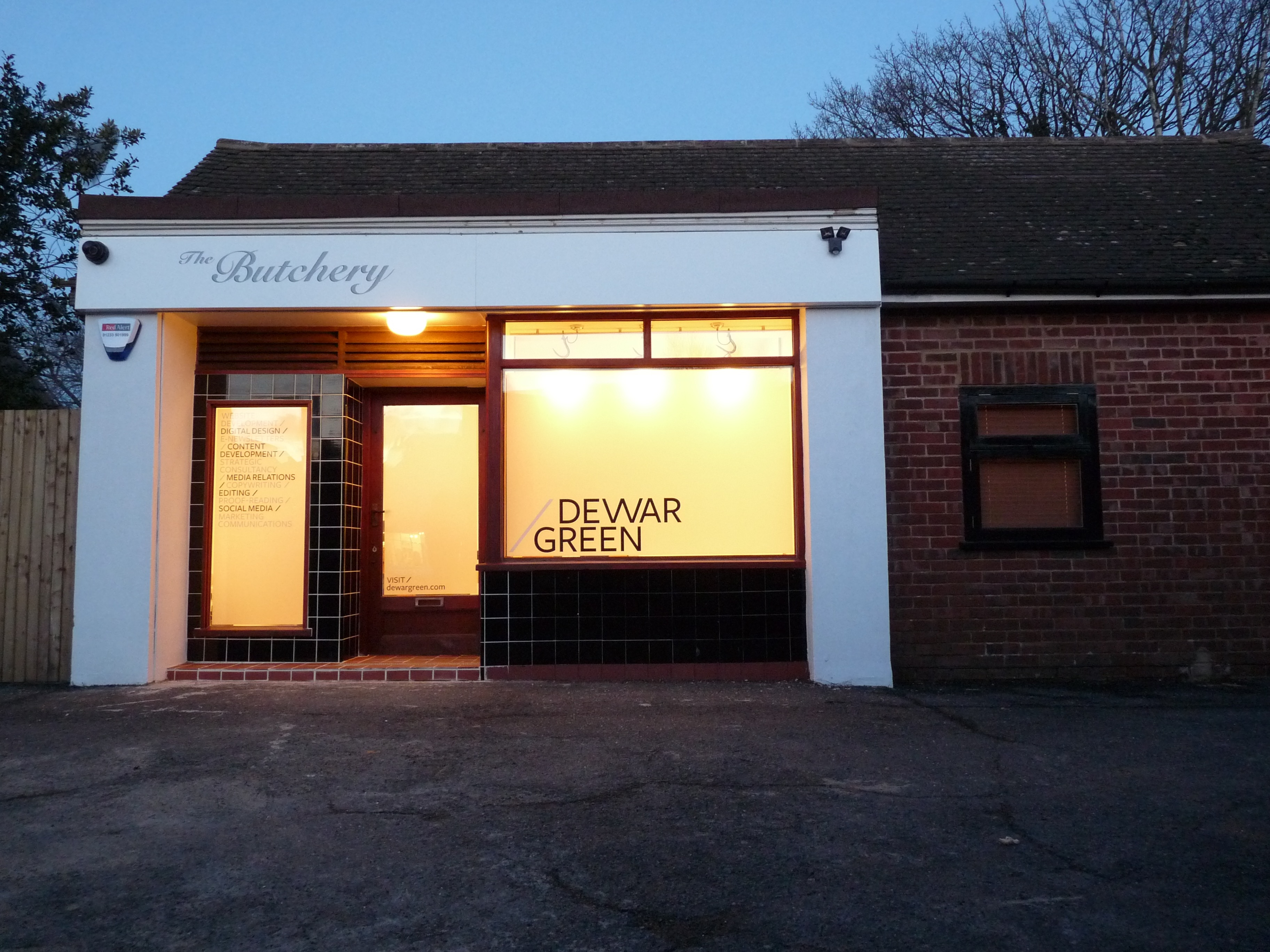 The new Dewar Green HQ at The Butchery
