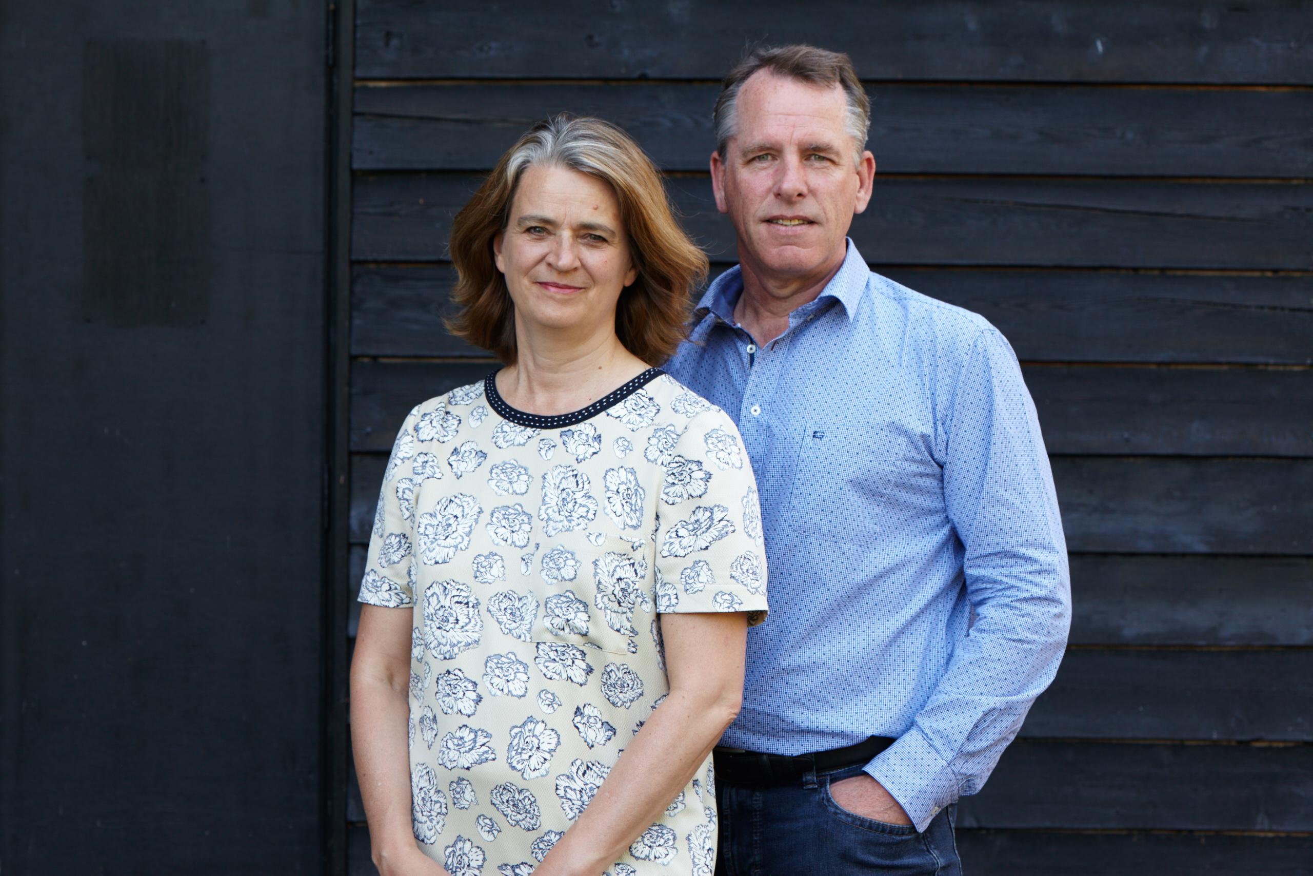 Rosalind Dewar and Tim Green