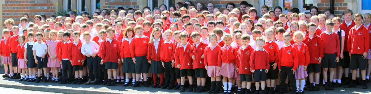 Woodchurch C of E Primary School group photograph
